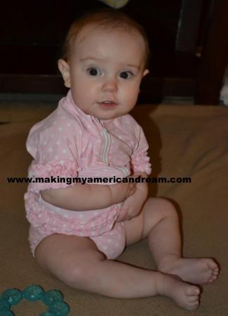 infant girl swimsuit